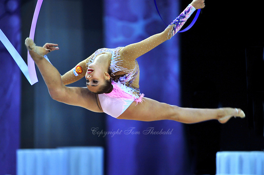 September 24, 2014 - Izmir, Turkey -  RITA MAMUN of Russia performs at 2014 World Championships.