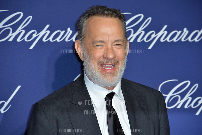 Actor Tom Hanks at the 2017 Palm Springs Film Festival Awards Gala. January 2, 2017<br /> Picture: Paul Smith/Featureflash/SilverHub 0208 004 5359/ 07711 972644 Editors@silverhubmedia.com