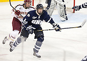 Bill Arnold (BC - 24), Eric Knodel (UNH - 5) - The Boston College Eagles and University of New Hampshire Wildcats tied 4-4 on Sunday, February 17, 2013, at Kelley Rink in Conte Forum in Chestnut Hill, Massachusetts.
