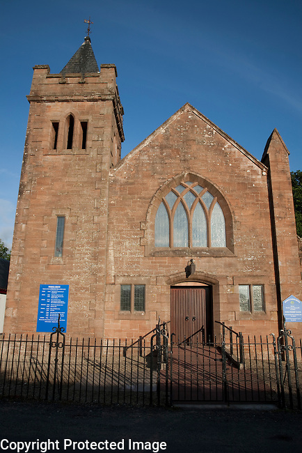 Broddick Parish Church, Isle of Arran, Scotland, UK