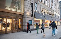 A Loehmann's department store in the Chelsea neighborhood of New York on Thursday, January 9, 2014.The women's clothing retailer which filed for bankruptcy protection for the third time has been finally given approval by the court to liquidate and have its going out of business sale.. The off-price merchandiser faced the same problems that besieged its defunct rivals, Sym's, Filene's and Daffy's, the production of goods has been streamlined by computerization resulting in less excess inventory that manufacturers must unload.  (© Richard B. Levine)