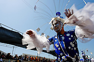 A Colombian boy dances during the Carnival in Barranquilla, Colombia, 27 February 2006. The Carnival of Barranquilla is a unique festivity which takes place every year during February or March on the Caribbean coast of Colombia. A colourful mixture of the ancient African tribal dances and the Spanish music influence - cumbia, porro, mapale, puya, congo among others - hit for five days nearly all central streets of Barranquilla. Those traditions kept for centuries by Black African slaves have had the great impact on Colombian culture and Colombian society. In November 2003 the Carnival of Barranquilla was proclaimed as the Masterpiece of the Oral and Intangible Heritage of Humanity by UNESCO.