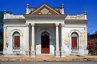 Masonic Temple near Cienfuegos Cuba , pictures of front door entrances