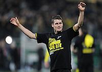 FUSSBALL   DFB POKAL   SAISON 2011/2012   HALBFINALE SpVgg Greuther Fuerth - Borussia Dortmund                  20.03.2012 Jubel nach dem Sieg, Sebastian Kehl (Borussia Dortmund)