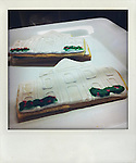 White House shaped cookies are on sale at Palmer's Deli during a campaign stop by Republican presidential hopeful Michele Bachmann on Wednesday, July 20, 2011 in West Des Moines, IA.