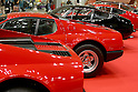 May 22, 2010 - Tokyo, Japan - Vintage Ferrari cars are on display during the 'Tokyo Nostalgic Car Show' held at the Tokyo Big Sight Exhibition Center, in Tokyo, Japan on May 22, 2010. This year marks the 20th anniversary of the show's existence.