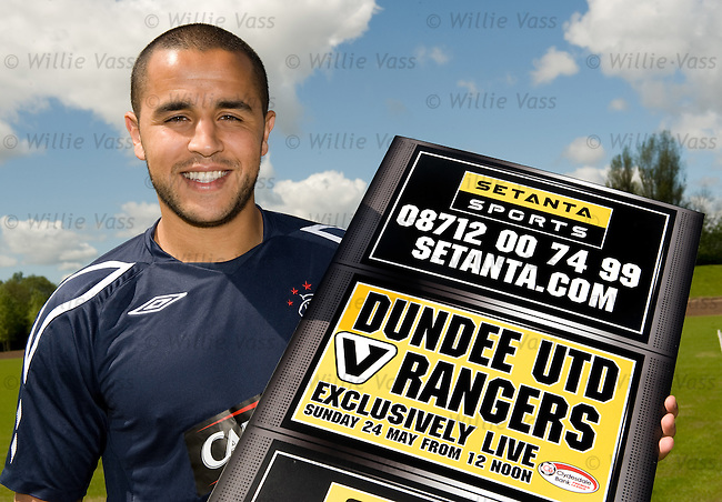 Madjid Bougherra promotes the final weekend's SPL action for Setanta