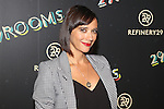 "Actress, Comic Book Author, Film Producer, Singer, and Screenwriter RASHIDA JONES Refinery29'S Opening Night of ""29Rooms: Powered by People"" During NYFW Held in Brooklyn, NY"