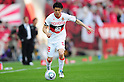 Hayuma Tanaka (Grampus), APRIL 24th, 2011 - Football : 2011 J.League Division 1 match between Urawa Red Diamonds 3-0 Nagoya Grampus Eight at Saitama Stadium 2002 in Saitama, Japan. The J.League resumed on Saturday 23rd April after a six week enforced break following the March 11th Tohoku Earthquake and Tsunami. All games kicked off in the daytime in order to save electricity and title favourites Kashima Antlers are still unable to use their home stadium which was damaged by the quake. Velgata Sendai, from Miyagi, which was hard hit by the tsunami came from behind for an emotional 2-1 victory away to Kawasaki. .(Photo by AFLO)