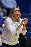 29 January 2015: Pitt head coach Suzie McConnell-Serio. The Duke University Blue Devils hosted the University of Pittsburgh Panthers at Cameron Indoor Stadium in Durham, North Carolina in a 2014-15 NCAA Division I Women's Basketball game. Duke won the game 62-45.