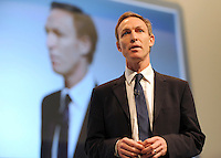 &copy; Licensed to London News Pictures. 26/09/2011. LONDON, UK. Jim Murphy, Shadow Defence Minister at The Labour Party Conference in Liverpool today (26/09/11). Photo credit:  Stephen Simpson/LNP