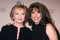 Florence Henderson & Kate Linder arriving at the Television Academy Hall of Fame Ceremony in Beverly Hills, CA .December 9, 2008.©2008 Kathy Hutchins / Hutchins Photo....                .