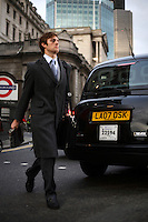 Gregory Allen, who works in financial services in the City of London. The UK went into recession in the final quarter of 2008 as the City was hit hard by the global credit crunch.