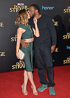 LOS ANGELES, CA. October 20, 2016: Allison Holker &amp; Stephen Boss at the world premiere of Marvel Studios' &quot;Doctor Strange&quot; at the El Capitan Theatre, Hollywood.<br /> Picture: Paul Smith/Featureflash/SilverHub 0208 004 5359/ 07711 972644 Editors@silverhubmedia.com