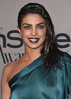 LOS ANGELES - OCTOBER 24:  Priyanka Chopra at the 2nd Annual InStyle Awards at The Getty Center on October 24, 2016 in Los Angeles, California.Credit: mpi991/MediaPunch