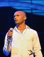 """August 26, 2011 (Washington, DC)  International R&B singer, Kenny Lattimore performed at the """"M.L.K.: A Monumental Life"""" tribute to Martin Luther King Jr. at the D.A.R. Constitution Hall in Washington.  The event, presented by Alpha Phi Alpha Fraternity, was a theatrical and musical celebration honoring Dr. King.  (Photo by Don Baxter/Media Images International)"""