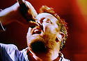 Glastonbury Festival on the BBC. Elbow - Guy Garvey