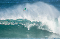 Margaret River, Western Australia (Thursday, April 16, 2015) Adam Melling (AUS). &ndash; Day two of the 2015 Drug Aware Margaret River Pro was called on today with surf in solid 10'  surf at the main break at Margaret River and solid 6'-8' at the alternate spot of The Box. <br /> Round Two heats 1 to 9 were held at The Box before the contest was put on hold for a short time and then shifted to the main Break where they finished the round.<br /> Photo: joliphotos.com