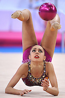 March 22, 2014 - Stuttgart, Germany - RITA MAMUN of Russia performs with ball at Stuttgart World Cup.