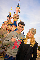 One Direction's Zayn Malik takes Perrie Edwards  to Disneyland Paris