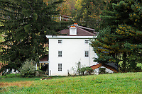 Historic Kuerner's Farm house made famous as the setting of over 1000 Andrew Wyeth paintings. Currently under the direction of the Brandywine Museum, Chadds Ford, Pennsylvania, USA