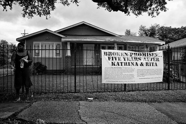 The Lower 9th Ward Health Clinic in New Orleans.