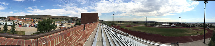 rawlins high school football stadium, Tuesday June 30, 2015.