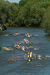 """Students. Oxford University Rowing Clubs Eights Week. Rowing races on the River Isis Oxford. (actually the River Thames). Summer Eights is a """"bumps race"""" intercollegiate rowing regatta takes place end of May in Trinity Term."""