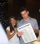 09-12-09 Aiden Turner & Melissa Claire Egan Fan Bfast