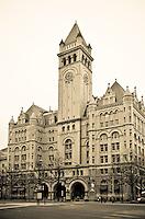 Washington DC Architecture<br /> Old Post Office Pavillion<br /> Washington DC