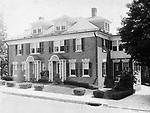 Joseph Farley's house at the top of Pine Street in Waterbury, 1925.