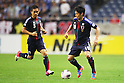 (L to R) Yuto Nagatomo (JPN), Shinji Kagawa (JPN), .June 3, 2012 - Football / Soccer : .FIFA World Cup Brazil 2014 Asian Qualifier Final Round, Group B .match between Japan 3-0 Oman .at Saitama Stadium 2002, Saitama, Japan. .(Photo by Daiju Kitamura/AFLO SPORT) [1045]