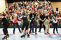 The  Oakland Outlaws defeated the Berkeley Resistance 168-156 on Saturday, April 27, 2013 in Oakland, California.