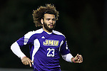 20 November 2014: James Madison's Connor Coward. The University of North Carolina Tar Heels hosted the James Madison University Dukes at Fetzer Field in Chapel Hill, NC in a 2014 NCAA Division I Men's Soccer Tournament First Round match. UNC won the game 6-0.