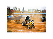 "Willis J. Farrington Comes Up Short, Lawn Tractor Pull State Championship, Cedar Grove, North Carolina, 2007 | D.L. Anderson | $350 | Limited Edition 1 of 7 | Print - 20x24"" Light Jet Fuji Crystal Archive, lustre 