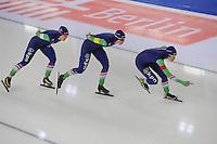 SCHAATSEN: BERLIJN: Sportforum Berlin, 06-12-2014, ISU World Cup, ©foto Martin de Jong