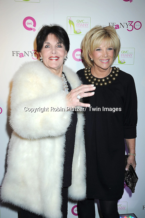 """Linda Dano and Joan Lunden attending The QVC Presents """"FFANY Shoes on Sale"""" at Frederick P Rose Hall, Home of Jazz at Lincoln Center on October 13, 2010 in New York City."""