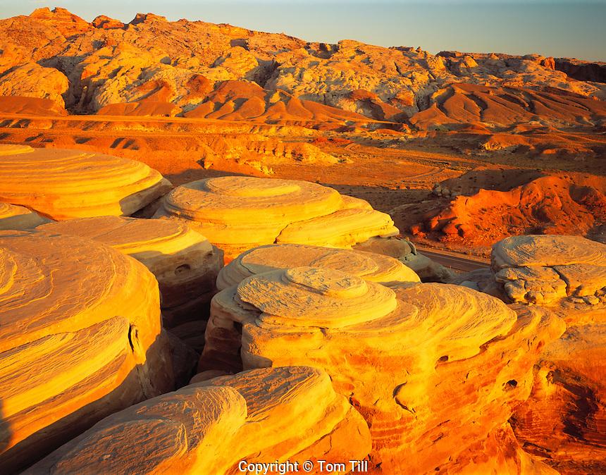 San Rafael Swell at Dawn, San Rafael Swell, Utah   Proposed San Rafael Wilderenss
