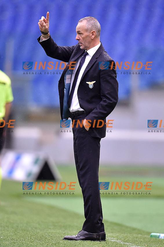Stefano Pioli Lazio <br /> Roma 18-01-2015 Stadio Olimpico, Football Calcio Serie A Lazio - Napoli. Foto Andrea Staccioli / Insidefoto