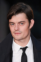 LONDON, UK. October 16, 2016: Sam Riley at the London Film Festival 2016 premiere of &quot;Free Fire&quot; at the Odeon Leicester Square, London.<br /> Picture: Steve Vas/Featureflash/SilverHub 0208 004 5359/ 07711 972644 Editors@silverhubmedia.com