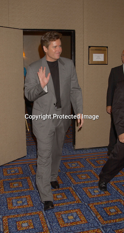 Michael E Knight                               ..at the All My Children Fan Club Luncheon on August 10, 2003 at the Marriott Marquis in New York.                           Photo by Robin Platzer, Twin Images