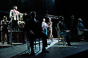"London, UK. 16/03/2012. Simon McBurney's ""Complicite"" present ""The Master and Margarita"", an adaptation of the Bulgakov novel, at the Barbican. Paul Rhys (as the Master) and Cesar Sarachu (as Yeshua Ha-Nostri).Photo credit: Jane Hobson"
