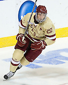 Paul Carey (BC - 22) - The Boston College Eagles defeated the University of Minnesota Duluth Bulldogs 4-0 to win the NCAA Northeast Regional on Sunday, March 25, 2012, at the DCU Center in Worcester, Massachusetts.