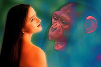 Salute.Health.Ricerca scientifica. Scientific research.Evoluzione darwin.Darwin evolution.
