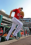 9 July 2011: Washington Nationals third baseman Ryan Zimmerman takes to the field for a game against the Colorado Rockies at Nationals Park in Washington, District of Columbia. The Nationals were edged out by the Rockies 2-1, dropping the second game of their 3-game series. Mandatory Credit: Ed Wolfstein Photo
