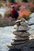 Cairn on Lemon Squeezer Hike New York
