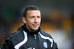 St Johnstone v Hibs...02.10.10  .A happy Derek McInnes.Picture by Graeme Hart..Copyright Perthshire Picture Agency.Tel: 01738 623350  Mobile: 07990 594431