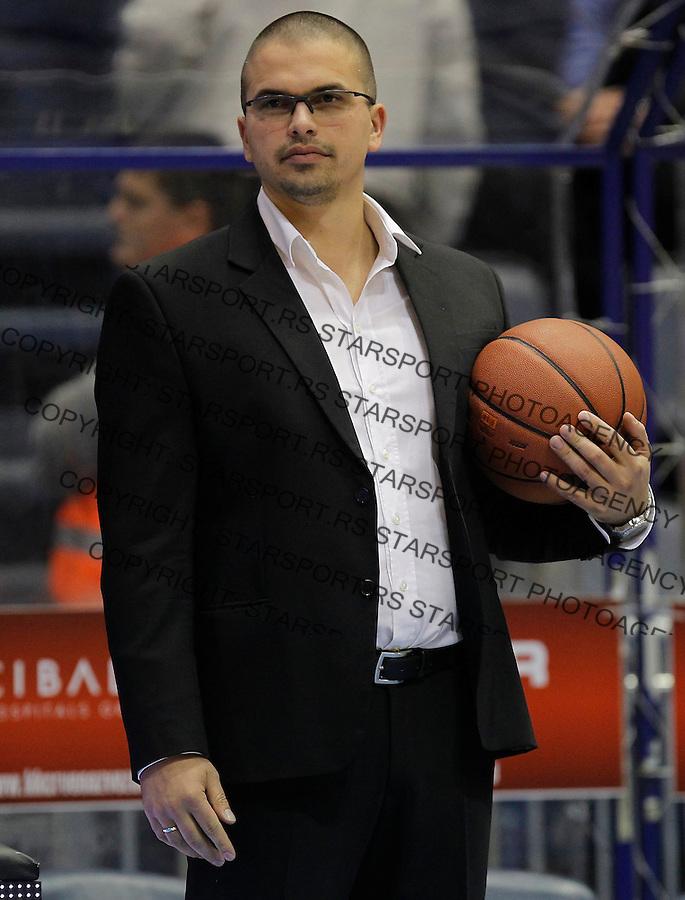 Kosarka ABA League season 2015-2016<br /> Crvena Zvezda v Partizan<br /> Goran Tadic<br /> Beograd, 03.11.2015.<br /> foto: Srdjan Stevanovic/Starsportphoto&copy;