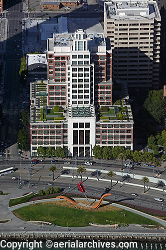 aerial photograph Gap corporate headquarters 2 Folsom Street San Francisco