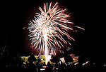 TORRINGTON CT. 11 July 2015-071115SV10-Fireworks go off at the middle school inTorrington Saturday.<br /> Steven Valenti Republican-American